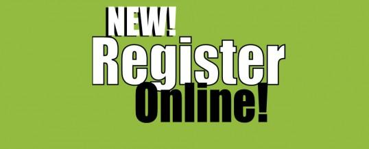 New! Register for Summer 2014 classes online