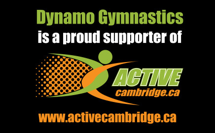 Proud Supporter of Active Cambridge