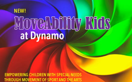 New! MoveAbility Kids partners with Dynamo